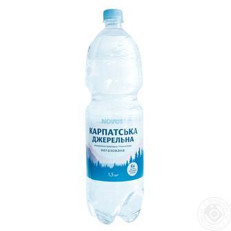 Вода газована Карпатська Джерельна 1,5 л