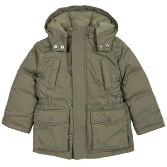 Куртка COOL для мальчика с капюшоном и высоким воротом