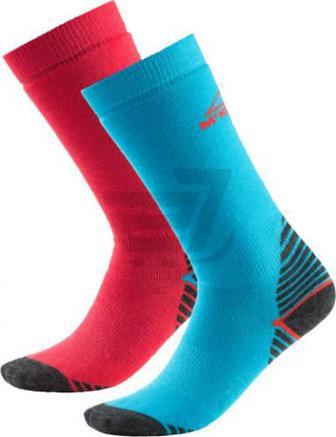 Шкарпетки McKinley Rob jrs 2-pack McK р. 35-38 блакитно-рожевий