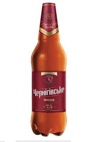 Пиво Чернігівське міцне 1л