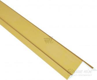 Профіль алюмінієвий анодований БРАЗ ЛАЙН 2,7 м 21 мм золото