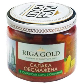 Салака Рижское Золото обсмажена в з овочами 280г