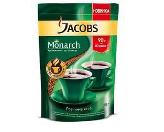 Кава Монарх розчинна Jacobs, 90 г