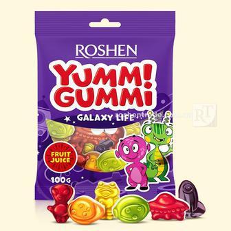 Цукерки жувальні Yummi Gummi Rohen 100г