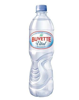 Скидка 21% ▷ Вода мінеральна негазована Buvette 0.5 л