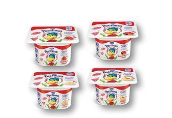 Йогурт Персиковий/ Вишня-черешня/ Банан/ Полуничний, 2% Растішка - 115 г