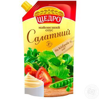 Майонезний соус 30% Щедро 350г
