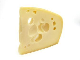 Сир крупнопористий Ементаль 45% кг