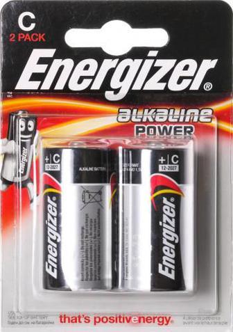 Батарейка Energizer Power С E93 C (R14, 343) 2 шт. (E300152100)