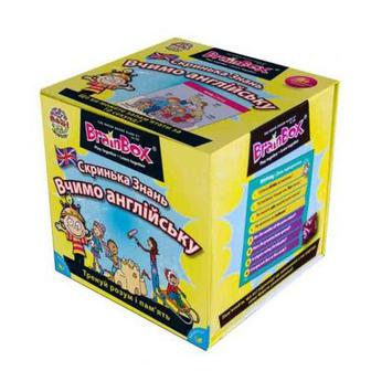 Настольная игра Сундучок знаний Учим английский BrainBox (98352)