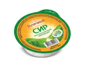 Сир кисломолочний «Галичина» «Карпатський» нежирний, 300г