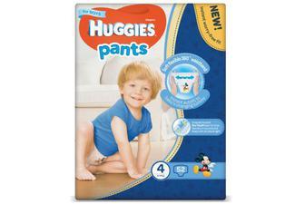 Підгузки-трусики Huggies Pants для хлопчиків 4 (9-14 кг) 52шт./уп