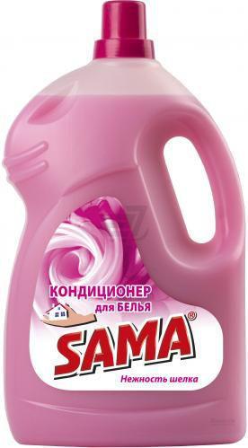 Кондиціонер для білизни SAMA Ніжність шовку 4 л