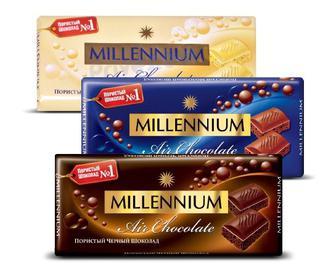 Шоколад Millennium пористый 100г