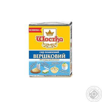 Сир Шостка Вершковий плавлений 40% 90г