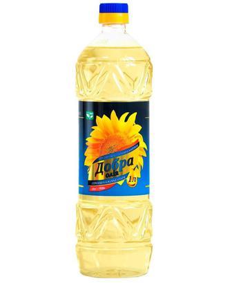 Олія Рафінована Добра олія 1л