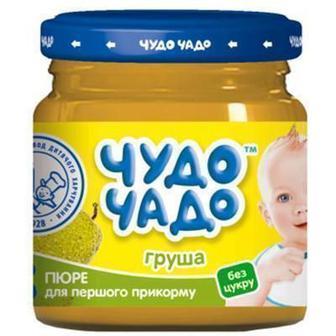 Пюре Чудо-Чадо из груши без сахара 90 г