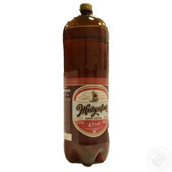 Пиво світле Жигулівське 2,4л