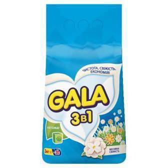 Порошок для автоматичного прання 400г 3 кг Gala