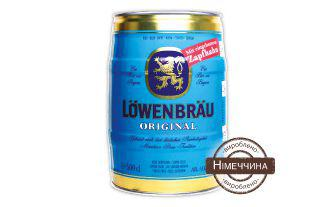 Пиво оригінальне Ловенбрау 5 л