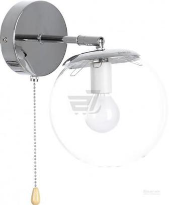 Бра Accento lighting Doviles ALPL-PLG005-1 1x40 Вт E14 хром
