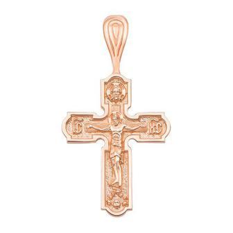 Золотой крестик. Распятие Христа. Артикул 31574