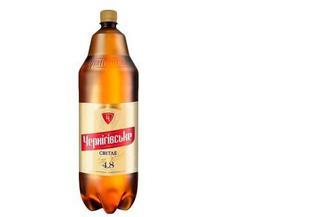 """Пиво Світле 4,6% пет. """"Чернігівське"""", 2,35л"""
