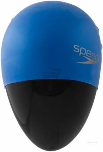 Шапочка для плавання Speedo Plain Moulded Silicone Cap 8-709842610 синій