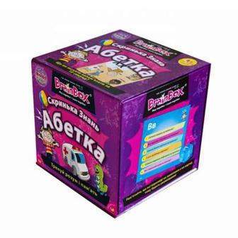 Настольная игра Сундучок знаний Азбука BrainBox (98320)