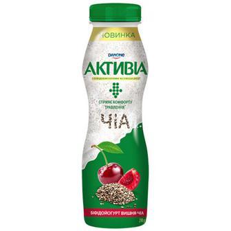 Йогурт Danone Активіа Вишня-Чіа 1,5% 290г