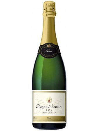 Вино ігристе брют Roger D'Anoia Cava Brut 0.75л