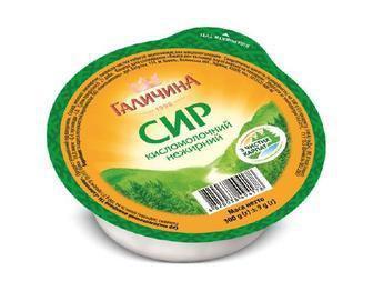 Сир кисломолочний 0% Галичина 300 г