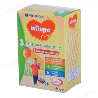 Молочная смесь Milupa Детское молочко 3, 600 г