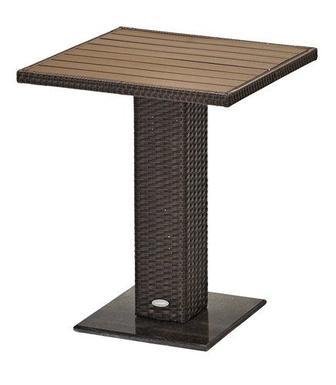 Столик THY 60х60см коричневий