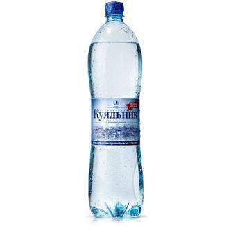 Вода мінеральна сильногазована Куяльник 1,5л