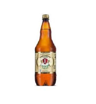 Пиво світле Свіжий розлив Перша приватна броварня 1,3 л