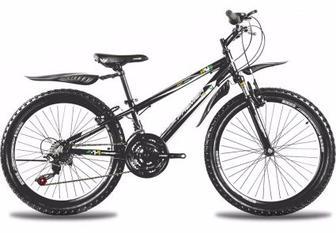 "Велосипед Premier XC24 11"" черн с голуб-бел-зел-желт"