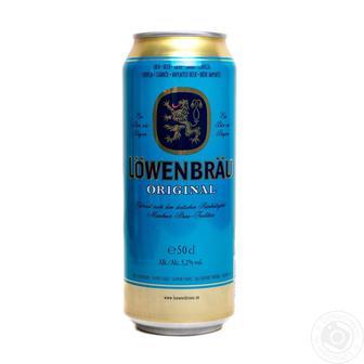 Пиво Оригінал, пшиничне Ловенбрау 0,5 л,