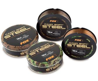 Леска FOX Soft Steel Dark Camo 0.35мм 1000м