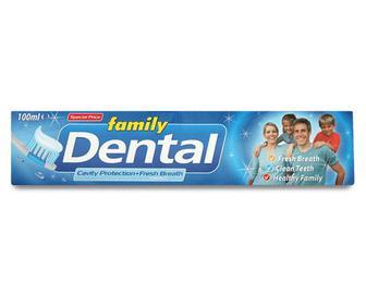 Паста зубна Dental Family «Профілактика карієсу та свіжий подих» 100мл