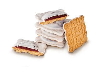 Печиво Маргаритка, Молочна Глазурь, Деліція, кг