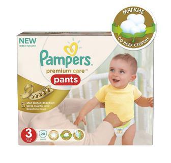 Подгузки-трусики Pampers Premium Care Pants