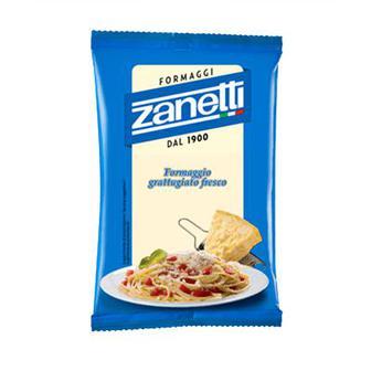Сир твердий тертий мікс 32% ZANETTI Італія 100г