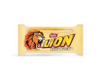 Скидка 37% ▷ Цукерки Nestle Lion White Rock, кг