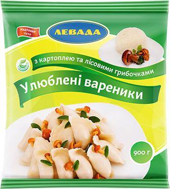Вареники Левада Улюблені картопля-гриби 900г