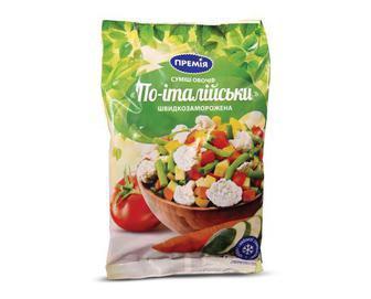 Суміш овочів заморожена, По-італійськи, Премія, 400 г