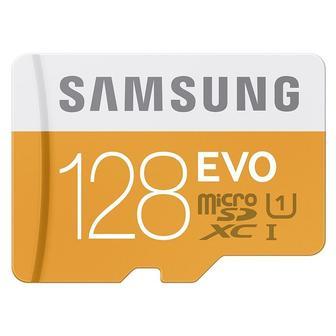 Samsung 128GB EVO Class 10, MicroSDXC MB-MP128DA/AM, OEM упаковка