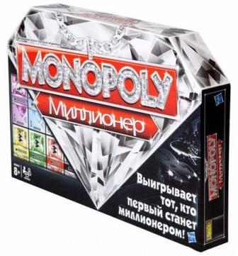 Настільна гра Монополія Мільйонер