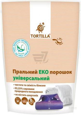 Пральний порошок універсал TORTILLA Еко 0,4 кг