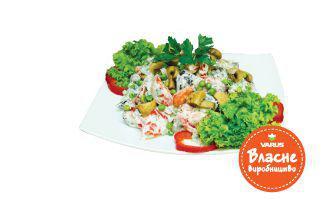 Салат літній з баклажанами 100 г